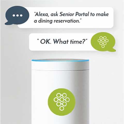 """Press release:  Viibrant selected to provide """"Ask Alexa"""" kiosks at LeadingAge Annual Meeting & EXPO 2018"""